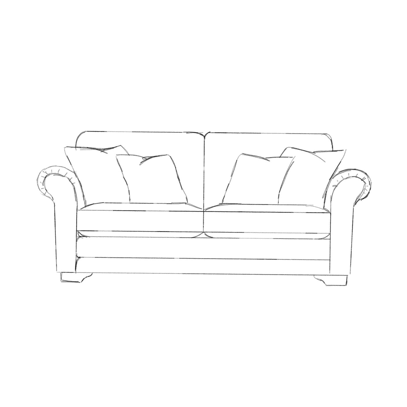 Portland 3 Seater Sofa M Burrows